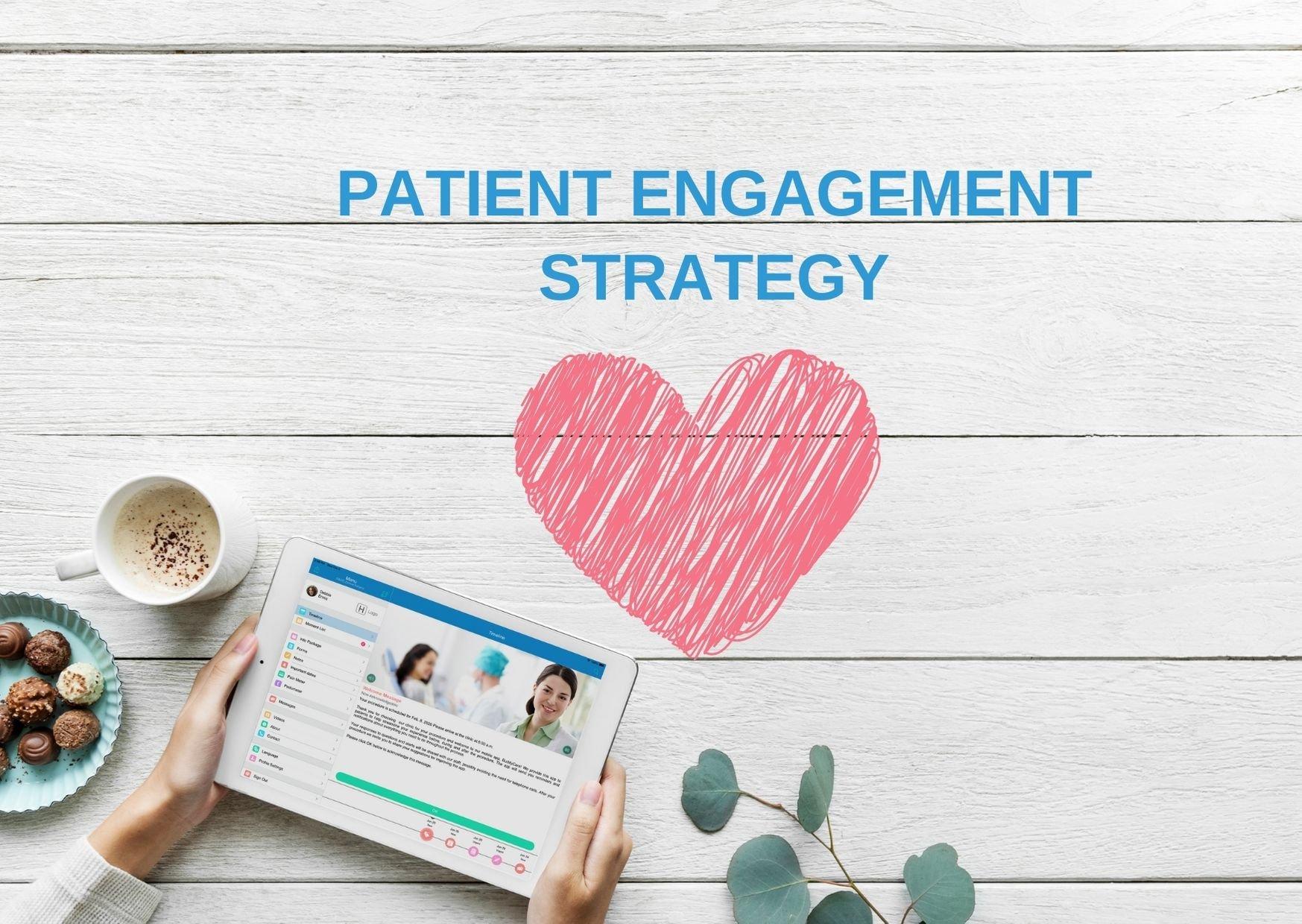 Patient engagement strategy