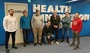 Buddy Healthcare's team has produced a mobile app for surgery patients