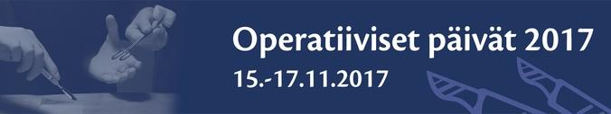 Operatiiviset päivät 2017