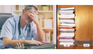 Surgical backlogs cause frustration & workplace stress for doctors.