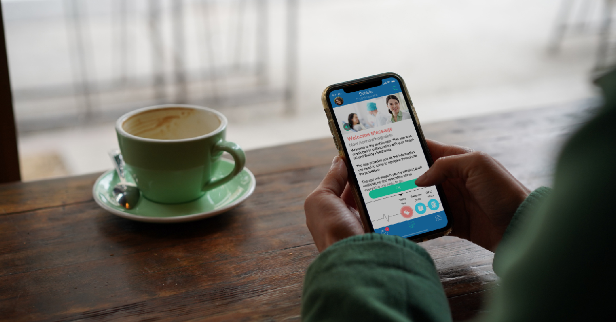 BuddyCare app supports colonosopy patients in Eksote Hospital district