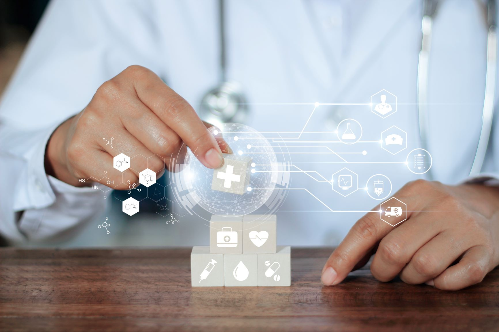 Future of care coordination and patient management at hospitals