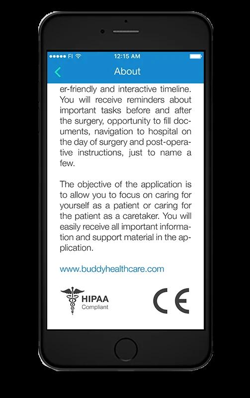 BuddyCare-CE-certified-HIPAA-compliant